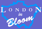 London In Bloom award logo