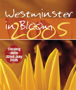Westminster In Bloom logo